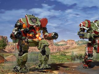 Machines of MechWarrior 5 Mercenaries wallpaper