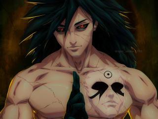 Madara Uchiha HD Naruto Art wallpaper
