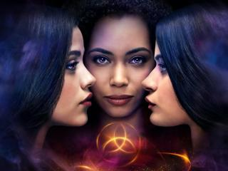Madeleine Mantock and Sarah Jeffery in Charmed wallpaper