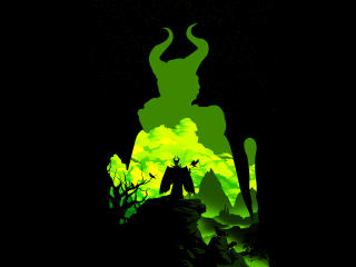 Maleficent Cool Minimal wallpaper