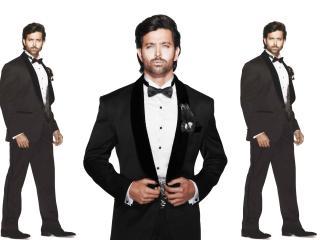man, tuxedo, white wallpaper