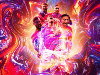 Manchester United F.C. Poster wallpaper