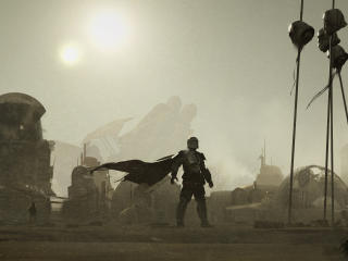 Mandalorian 2 Concept Art wallpaper
