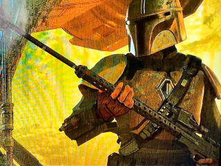Mandalorian Artwork wallpaper