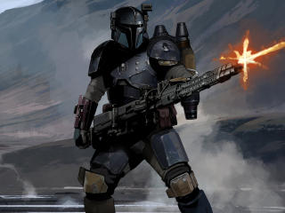 Mandalorian Concept Art wallpaper