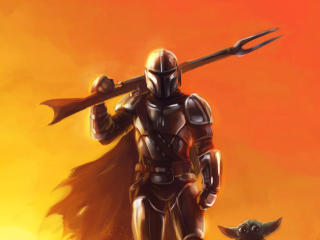 Mandalorian HD Digital Art wallpaper