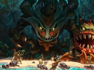 Maokai League Of Legends wallpaper