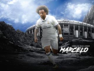 Marcelo Vieira Art Real Madrid wallpaper