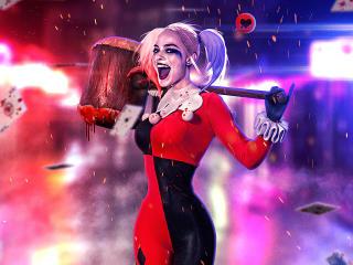 Margot New Harley Quinn wallpaper