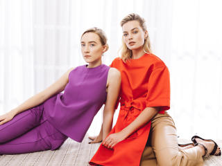 Margot Robbie and Saoirse Ronan wallpaper