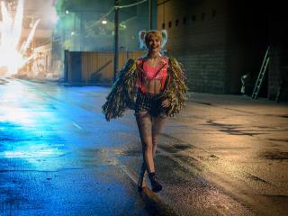 Margot Robbie as Harley Quinn BoP wallpaper