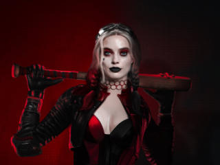 Margot Robbie as Harley Quinn The Suicide Squad wallpaper