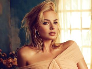 Margot Robbie Australian Blonde Actress wallpaper
