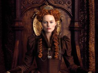 Margot Robbie in Mary Queen of Scots Movie wallpaper