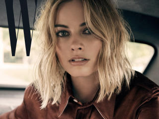 Margot Robbie W Magazine 2017 wallpaper