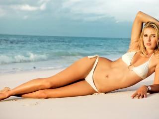 Maria Sharapova In Bikini wallpaper