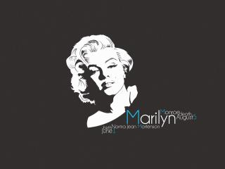 marilyn monroe, portrait, singer wallpaper