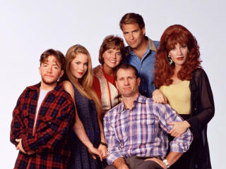 married with children, al bundy, peggy bundy wallpaper
