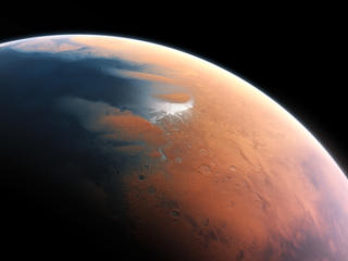 Mars Surface View wallpaper