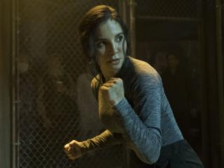 Martha Higareda Altered Carbon wallpaper