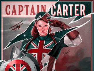 Marvel Captain America What If wallpaper