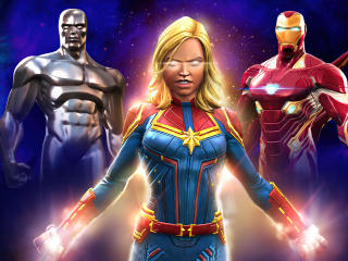 MARVEL CoC New Avengers wallpaper