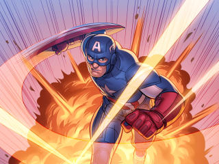 Marvel Comic Captain America wallpaper