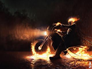 Marvel Comic Ghost Rider wallpaper