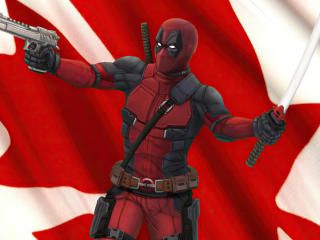 Marvel Deadpool Canada wallpaper