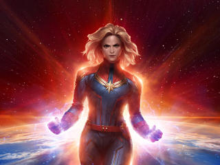 Marvel Future Fight Captain Marvel wallpaper