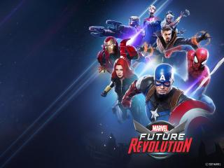 Marvel Future Revolution HD New Gaming Poster wallpaper