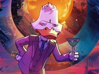 Marvel Howard The Duck What If wallpaper