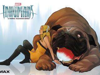 Marvel Inhumans Imax wallpaper
