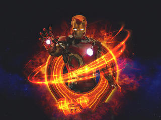 Marvel Iron Man Art wallpaper
