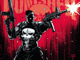 Marvel Punisher Art 2020 wallpaper