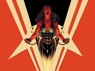 Marvel Red She-Hulk wallpaper