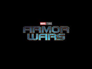 Marvel's Armor Wars Logo wallpaper