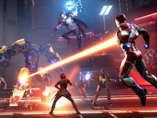 Marvel's Avengers Re Assemble Fight wallpaper