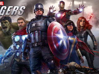 Marvel's Avengers Video Game wallpaper