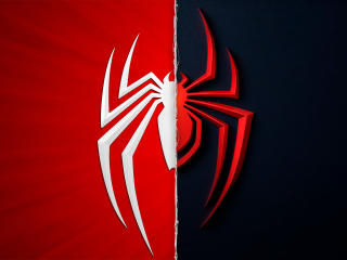 Marvel's Spider-Man Miles Morales Logo wallpaper