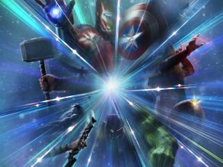 Marvel Studios Legends wallpaper