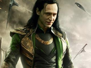Marvel Tom Hiddleston as Loki wallpaper