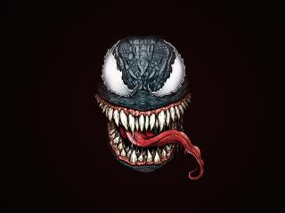 Marvel Venom Minimal wallpaper