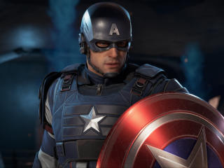 Marvels Avengers Captain America wallpaper