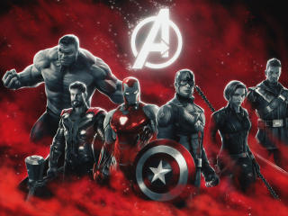 Marvels Avengers Superheroes wallpaper