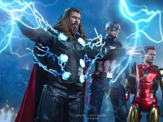 Marvels Game Avengers Endgame wallpaper