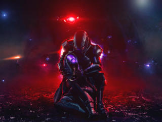 Mass Effect 8K wallpaper