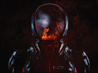 Mass Effect Andromeda Flame 2017 wallpaper