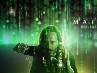 Matrix Resurrections HD Fan Art wallpaper