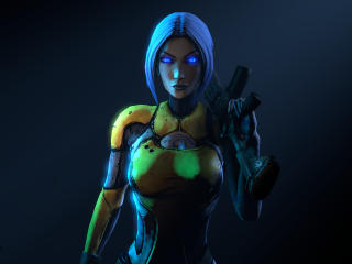 Maya Borderlands 2 wallpaper